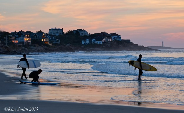Gloucester Good Harbor Beach surfers -3 ©Kim Smith 2015
