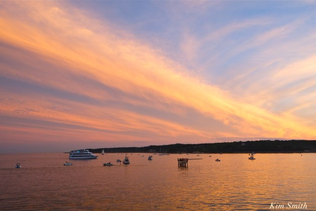 Pavilion Beach Sunset Gloucester Greasy Pole Beauport Princess copyright Kim Smith