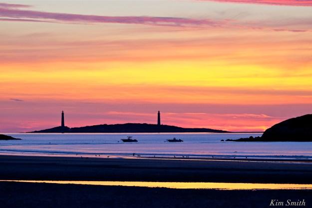Good Harbor beach sunrise August 17, 2016 -1  copyright Kim Smith