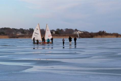 ice sailing niles pond copyright kim smith - 02