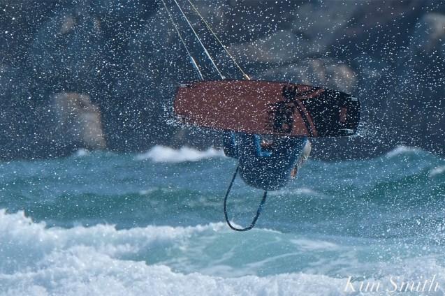 Kitesurfing Good Harbor Beach Gloucester copyright Kim Smith - 09