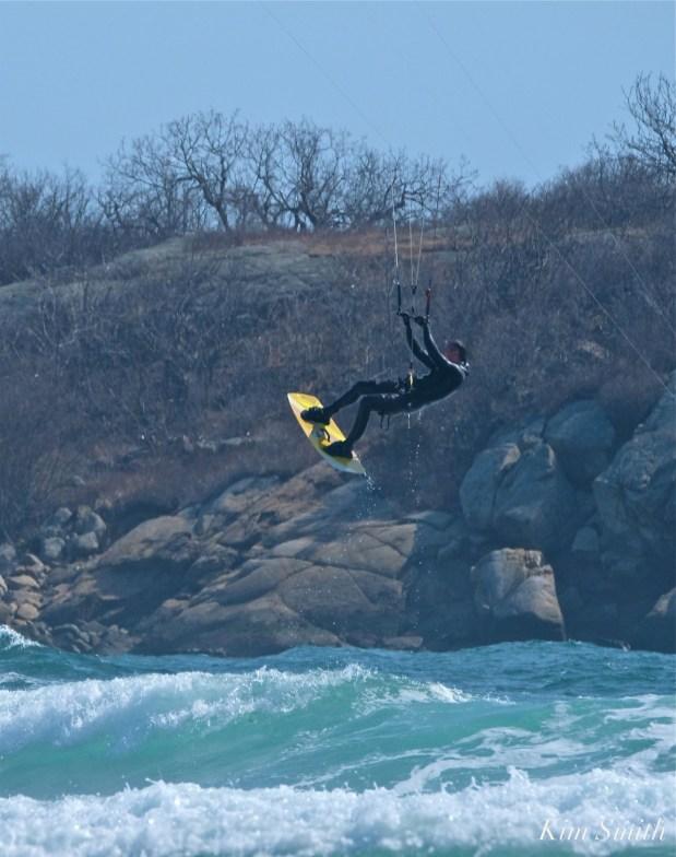 Kitesurfing Good Harbor Beach Gloucester copyright Kim Smith - 21
