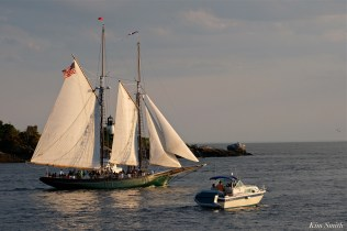 Schooner Thomas E. Lannon copyright Kim Smith - 07