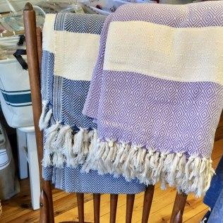 Blankets-chair