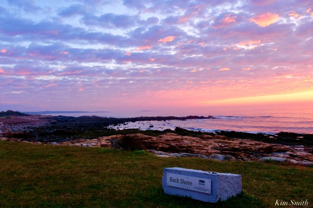 Sunrise Back Shore Greenbelt Gloucester MA October 2 copyright Kim Smith - 1 of 9