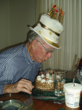 thumbnail_Dad's 78th bday celebration silly hats