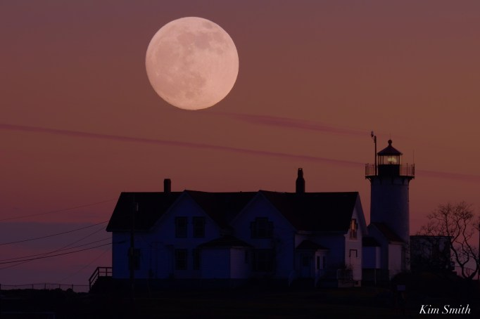 December Full Wolf Moon Eastern Point Lighthouse Gloucester Essex County copyright Kim Smith - 5 of 23