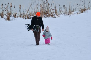 Sledding! copyright Kim Smith - 14 of 35