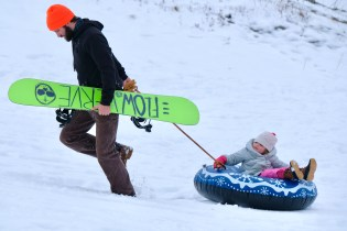 Sledding! copyright Kim Smith - 22 of 35