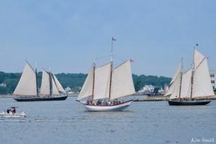 Schooner Parade of Sail Adventure Aldelle Alert Gloucester 2021 copyright kim Smith - 17 of 52