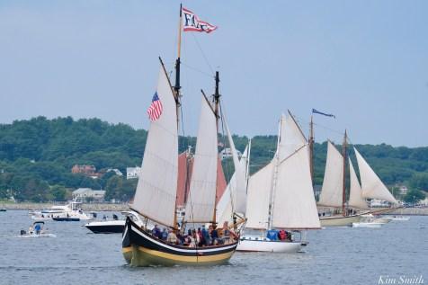 Schooner Parade of Sail Fame Gloucester 2021 copyright kim Smith - 2 of 6