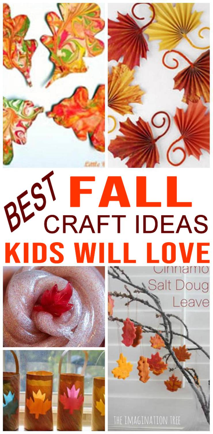 14 Diy Fall Crafts For Kids