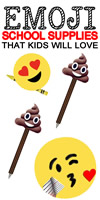 EMOJI SCHOOL SUPPLIES_DIYS
