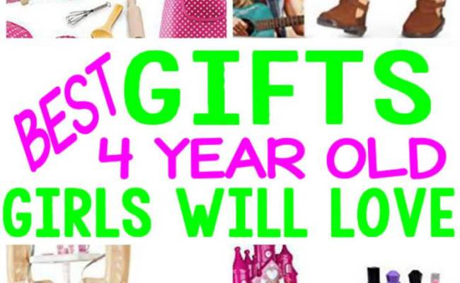 Best Gifts 4 Year Old Girls Will Love