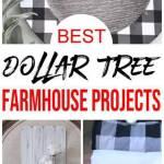 Dollar Tree Farmhouse Decor Diy Dollar Store Farmhouse Decoration Ideas Hacks Home Decor On A Budget