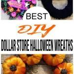 Best Dollar Store Halloween Wreath Diy Fall Wreath Ideas Learn How To Make Wreaths To Make Your Front Door Look Amazing Dollar Store Hacks Homemade Halloween Decor