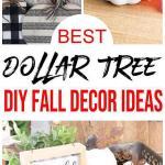 Fall Decor Diy Dollar Store Fall Decoration Ideas Hacks Fall Home Decor On A Budget Farmhouse Inspired