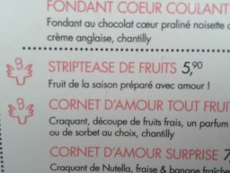 From a fruit shop in Bastille to you ~