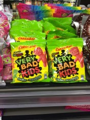 Sour Patch KIds is my favorite type of candy, so when I saw this, I HAD to get it... of course the French version is better than the American version. Chewier and better flavor! Will definitely bring bags of this home!!
