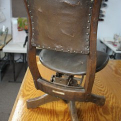 Reupholster Office Chair Back Active Sitting Ball An Antique Trash Or Treasure