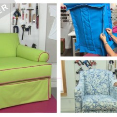 Diy Living Room Chair Cover Decorative Pillows Learn To Sew Your Own Slipcover Kim S Upholstery How