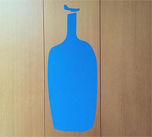 blue bottle coffee logo 도쿄 블루보틀 커피를 맛보다! 신주쿠 미라이나 타워 NEWoMan