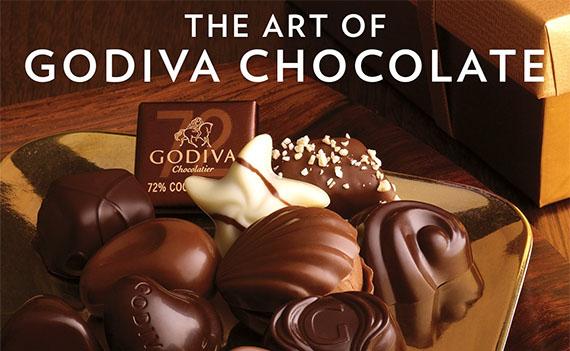 고디바 초콜릿 발렌타인데이 일본 의리초코 문화와 초콜릿 회사의 전면광고