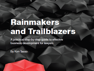 Rainmakers and trailblazers