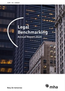 Law firm analysis – MHA Legal Benchmarking Annual Report 2020
