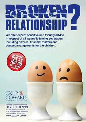 Oxley & Coward family law broken relationship