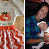 Custom Baby Holiday Outfits