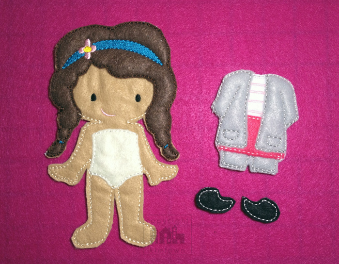 Meet Leia, the Little Doctor – Non Paper Dolls