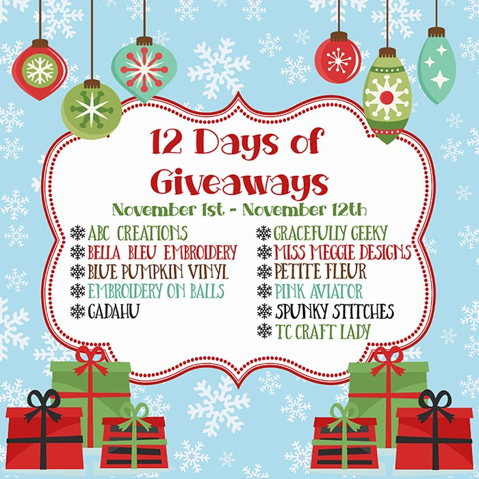 ICYMI: 12 Days of Giveaways | Facebook Group Fun