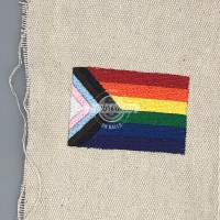 Pride Flag - Baseball Softball Embroidery Design