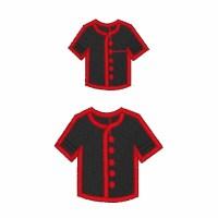 Uniform Shirt Filled Embroidery Design