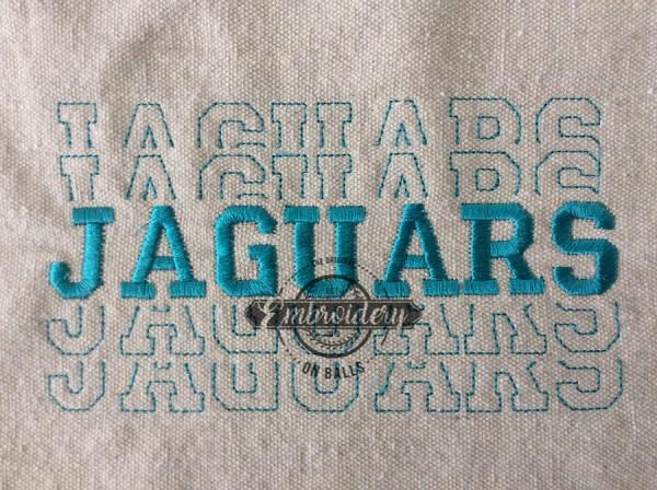 Breakout Jaguars - Embroidery Design