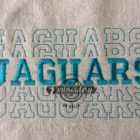 Breakout Jaguars - Embroidery Design