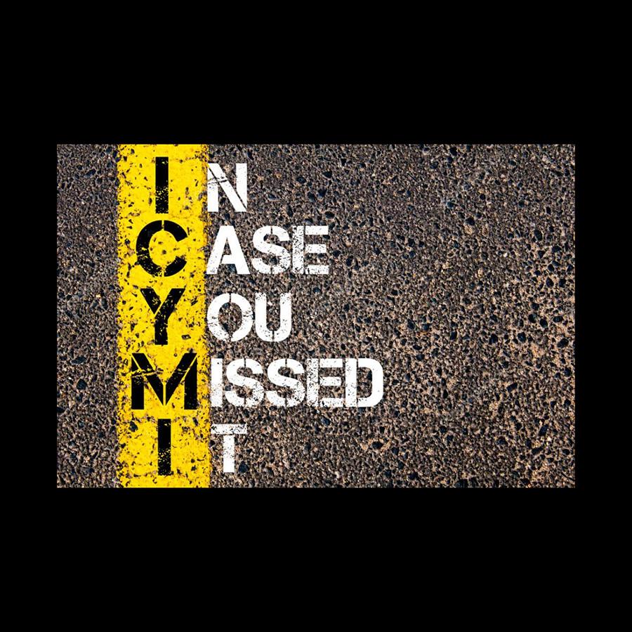Weekly ICYMI : Recap