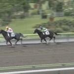 木村牧場育成馬ストリートピアノ、福島にて勝ち上がり!