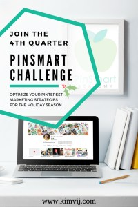 Q4 PinSmart Challenge- Holiday Pinning Strategies on Pinterest