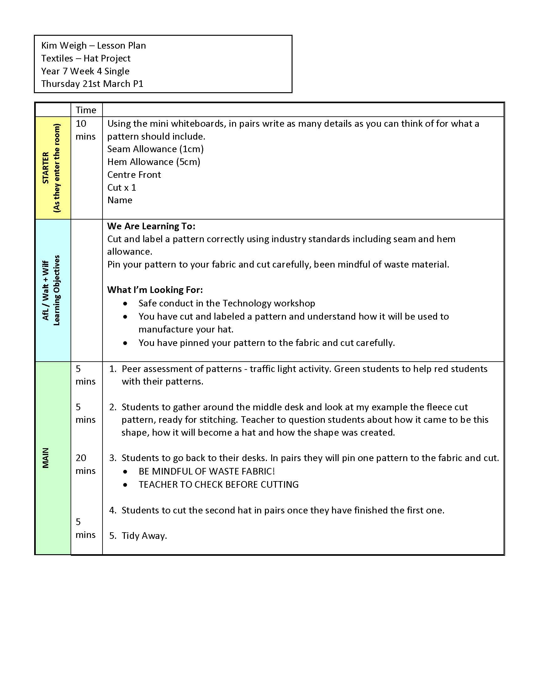 2 Be Aware Of Pupils Capabilities And Their Prior