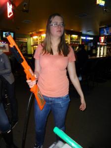 Kim Wetter lesbian hunting