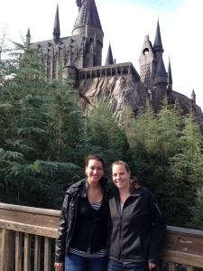 Emily and Janine and Hogwarts