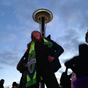 Kim Wetter and the Space Needle