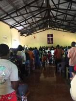 Church in Kamonkoli, Uganda