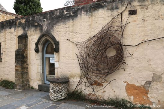 A wonderful web by florist and Sculptor Wona Bae.