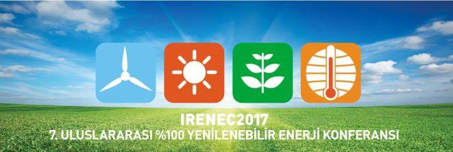 7.Uluslararası %100 Yenilenebilir Enerji Konferansı 18 Mayıs 2017 'de İstanbul'da