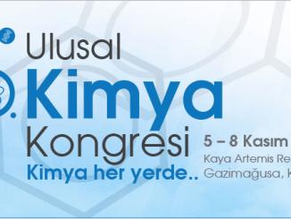 7dbed 30.ulusal kimya kongresi 05 08 kasc4b1mda kc4b1brc4b1sta yapc4b1lacak