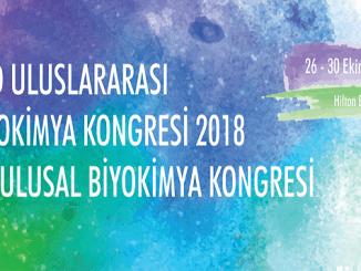 55382 29. ulusal biyokimya kongresi 26 30 ekim 2018 tarihlerinde yapc4b1lacak