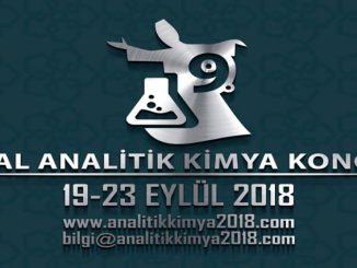e6ee5 9. ulusal analitik kimya kongresi 19 23 eylc3bcl 2018 tarihleri arasc4b1nda konyae28099da gerc3a7eklec59ftirilecek. e1531515999475